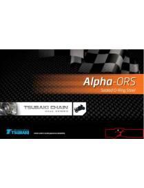 Chaine de transmission Tsubaki 520 Alpha ORS