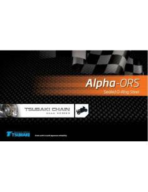 Chaine de transmission Tsubaki 525 Alpha ORS