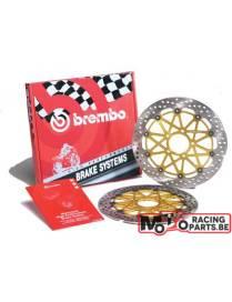 Paire de disques de freins Brembo HPK 300mm Kawasaki ER6N/Z750/Z1000/ZX-6R/ZX-10R
