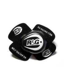 Knee sliders R&G  Aero - Black