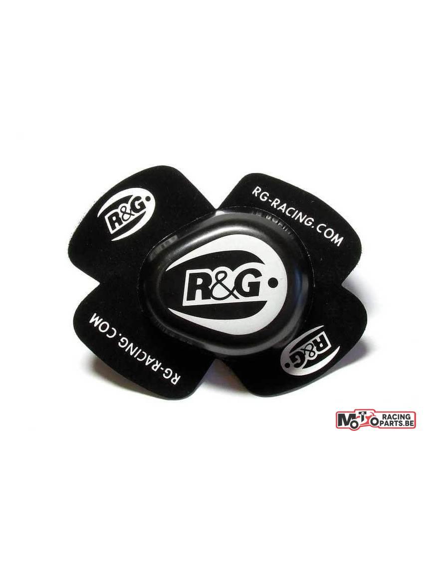 Sliders pour genou R&G noir (la paire)