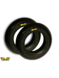 Set de pneus PMT Slick 100/90/12 - 120/80/12