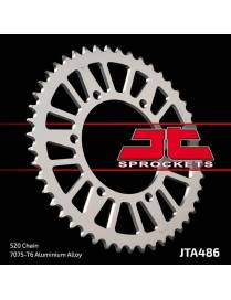 Couronne de transmission JT Sprocket Aluminium 520 JTA486