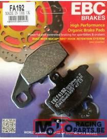 Rear brake pads EBC organic FA192
