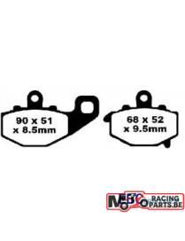Plaquettes de freins arrière EBC organic Kawasaki FA192