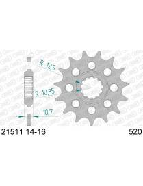 Front sprocket AFAM 520 Yamaha YZF-R6 2006 to 2015