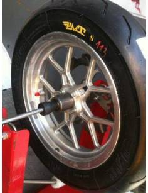 "Tyre PMT ""Blackfire"" 120/80/12"