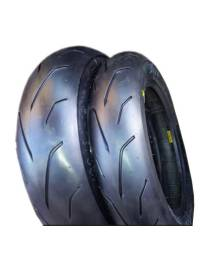 "Set of tyres PMT ""Blackfire"" 100/90/12 - 120/80/12"
