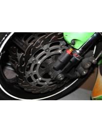 Paire disques frein flottant 320mm Moto-Master Honda CBR1000 RR 2008 à 2015
