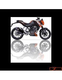 Silencer IXIL Hexoval Xtrem Black edition KTM Duke 125/200 11/15