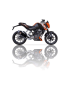 Silencieux Ixil Hexoval Xtrem Black KTM Duke 125/200 11/15