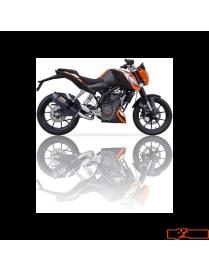 Silencer IXIL Hexoval Xtrem Carbono KTM Duke 125/200 11/15