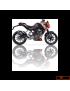 Silencieux Ixil Hexoval Xtrem Carbono KTM Duke 125/200 11/15