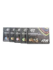 Transmission chain ITR Racing reinforced colors - Serie 530