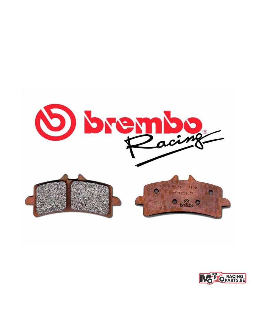 plaquettes de frein racing brembo m538z04 yamaha yzf r1. Black Bedroom Furniture Sets. Home Design Ideas