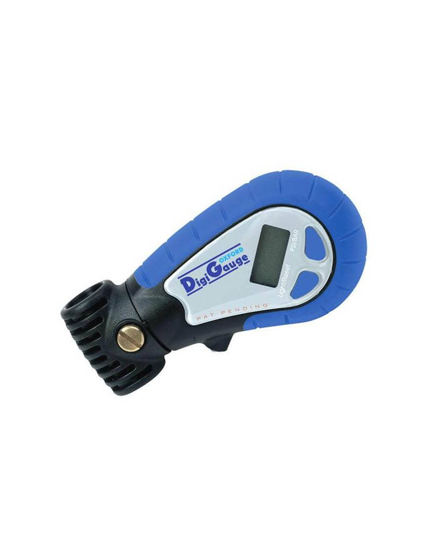 Manomètre de pression pneumatique digital Oxford 0,1 à 13,8 bar